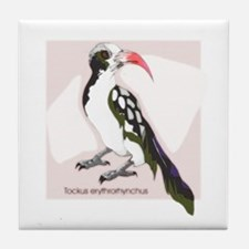 Watercolor Bird 1 Tile Coaster