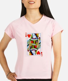 Queen of Hearts Performance Dry T-Shirt