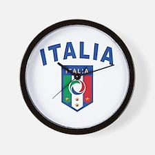 Forza Italia Wall Clock