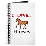 I Love Horses Journal
