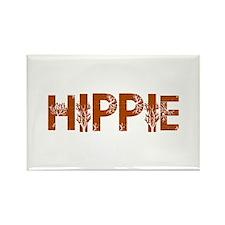 Vintage Hippie Rectangle Magnet