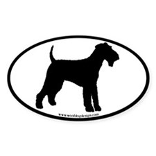 Airedale Terrier Dog Decal