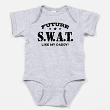 Funny Future daddy Baby Bodysuit