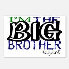 Cute Childrens big brother Postcards (Package of 8)