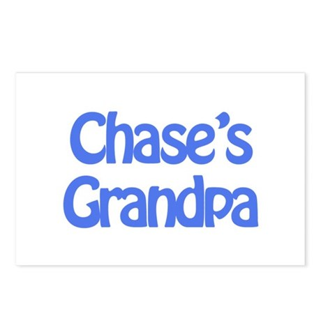 Chase's Grandpa Postcards (Package of 8)