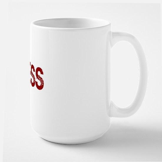 Want Less Large Mug