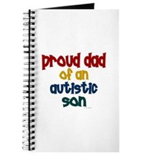 Proud Dad Of Autistic Son 2 Journal