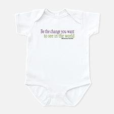 Gandhi Quote Infant Bodysuit