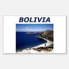 BOLIVIA Rectangle Decal
