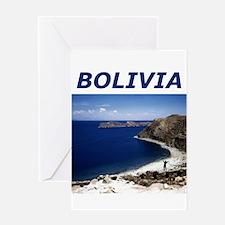 BOLIVIA Greeting Card