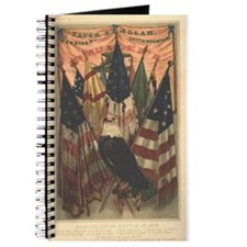 Mary A. Livermore Flag Plates Journal