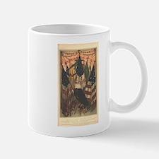 Mary A. Livermore Flag Plates Mug