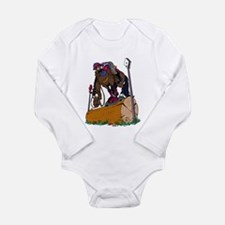 Jumping Long Sleeve Infant Bodysuit