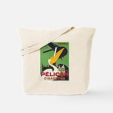 Vintage poster - Pelican Cigarettes Tote Bag
