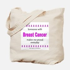Breast Cancer Pride Tote Bag