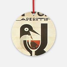 Vintage poster - Pivolo Aperitif Round Ornament