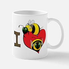 I heart bees Mug