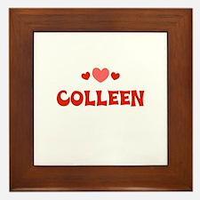 Colleen Framed Tile