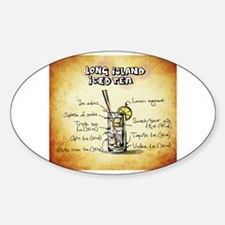 Funny Funny long island iced tea design Decal