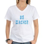 Big Macher Women's V-Neck T-Shirt