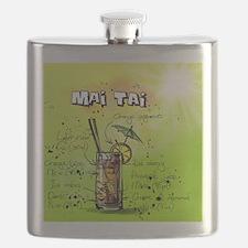 Cute Green drink Flask