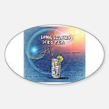 Cute Funny long island iced tea design Decal