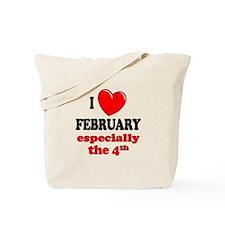 February 4th Tote Bag
