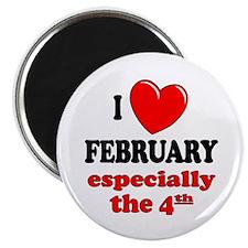 February 4th Magnet