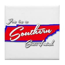 Cute Southern girl Tile Coaster