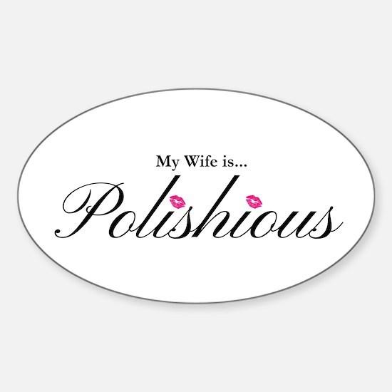 Polishious Wife Decal