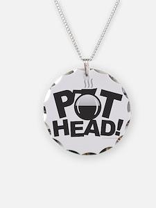 Pot Head Necklace