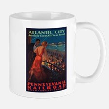 Vintage poster - Atlantic City Mugs