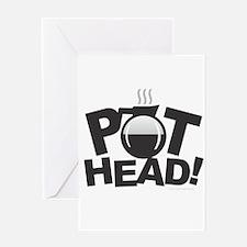 Pot Head Greeting Cards
