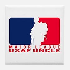 Major League Uncle - USAF Tile Coaster