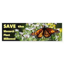 Save Monarchs Bumper Bumper Sticker
