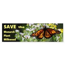 Save Monarchs Bumper Stickers