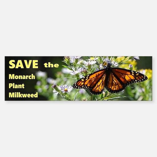 Save Monarchs Sticker (Bumper)