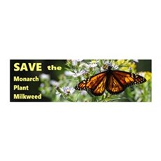 Save Monarchs Wall Decal