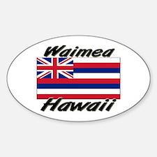 Waimea Hawaii Oval Decal