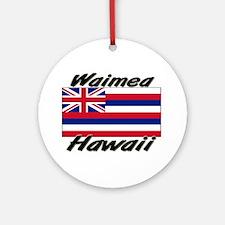 Waimea Hawaii Ornament (Round)