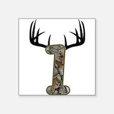 Hunting First Birthday Sticker