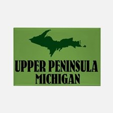 Upper Peninsula Rectangle Magnet