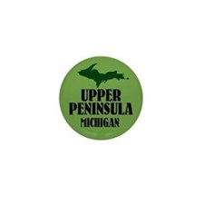 Upper Peninsula Mini Button
