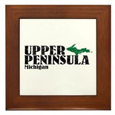 Upper Peninsula Framed Tile