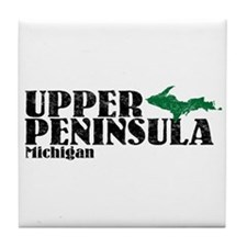 Upper Peninsula Tile Coaster