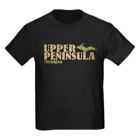 Upper Peninsula Kids Dark T-Shirt