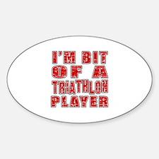 I'm Bit Of Triathlon Player Decal