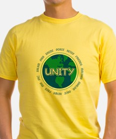 Unique World peace unity enlightenment meditation T