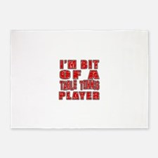 I'm Bit Of Table Tennis Player 5'x7'Area Rug