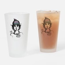 Teddy Boo and Ash Drinking Glass